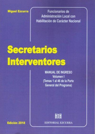 Secretarios interventores