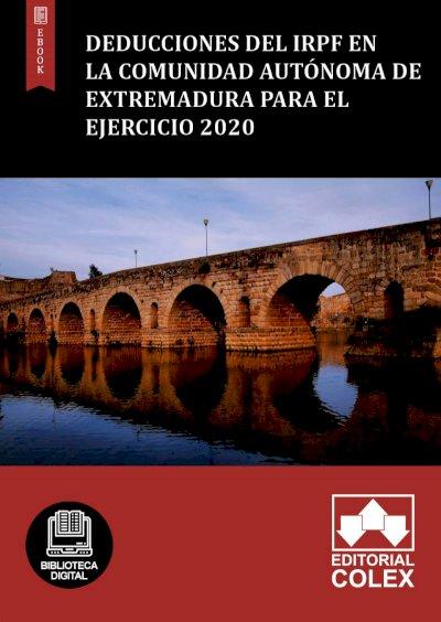 Deducciones del IRPF en la Comunidad Autónoma de Extremadura para el ejercicio 2020