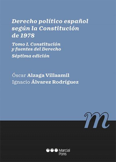 Derecho político español según la Constitución de 1978