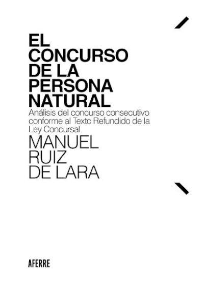 El concurso de la persona natural