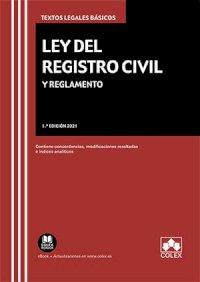Ley del Registro Civil y Reglamento