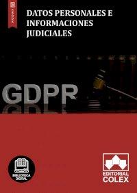 Datos personales e informaciones judiciales