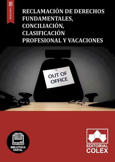 Reclamación de derechos fundamentales, conciliación, clasificación profesional y vacaciones