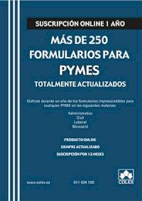 Suscripción más de 250 formularios para PYMES
