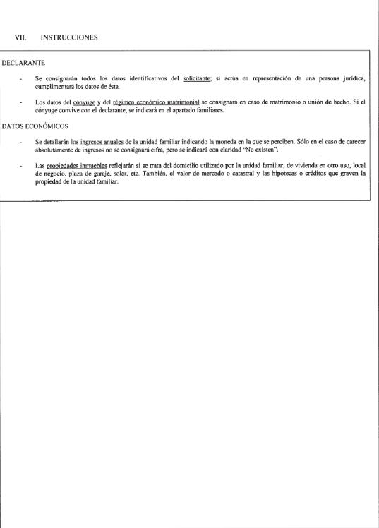 ANEXO I.I. Solicitud de asistencia jurídica gratuita