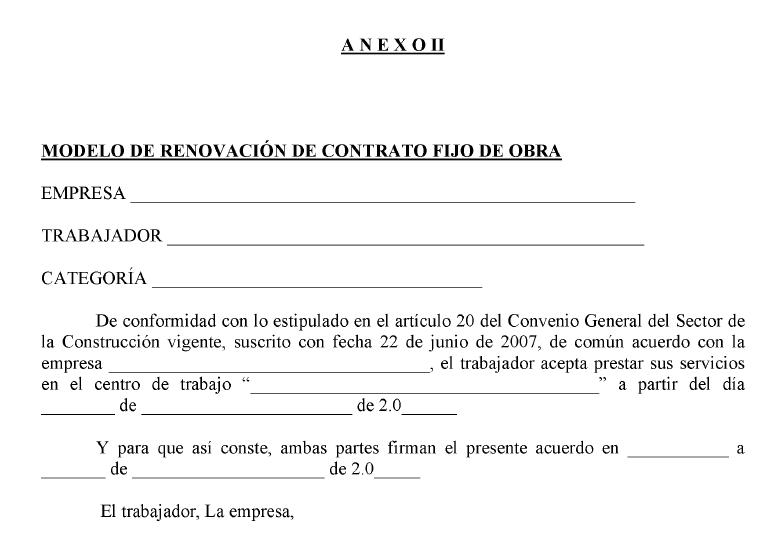 Convenio Colectivo De Construccion Y Obras Publicas Granada