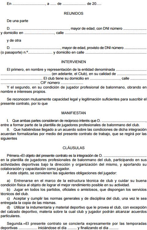 ANEXO II. Modelo de contrato tipo (1)