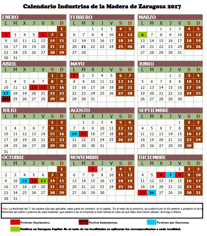 Artículo 18. Calendario laboral y fiestas.