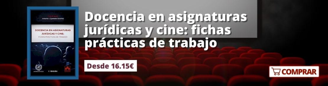 Docencia en asignaturas jurídicas y cine